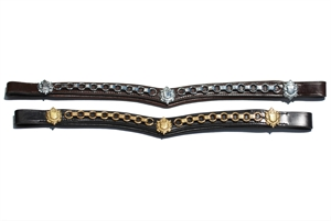 BROWBAND V CLINCHERED LX-accessories-Spurs