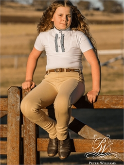 PETER WILLIAMS CHILDS PULL UP JODS PLAIN-apparel - rider-Spurs
