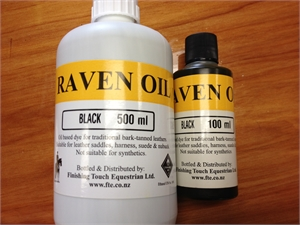 FINISHING TOUCH RAVEN OIL-dye & coat enhancer-Spurs