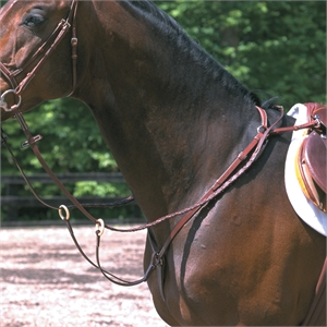 STUBBEN 1060 B/PLATE MART-breastplates & martingales-Spurs