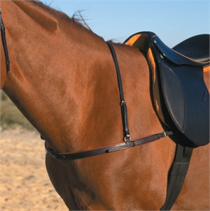 STUBBEN 1063 BREAST COLLAR-breastplates & martingales-Spurs