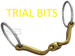 NEUE SCHULE TRIAL BIT FEE-bridles & bits-Spurs