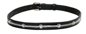 WILD WITH FLAIR BELT MULTI DIAMANTE -apparel - rider-Spurs