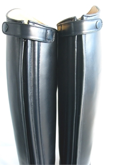 EVENTOR LEATHER ZIP BOOTS-long boots-Spurs