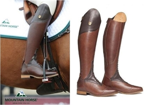 MOUNTAIN HORSE SOVEREIGN BOOTS-long boots-Spurs