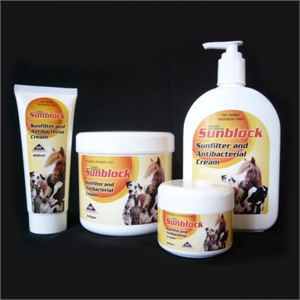 SUNFILTER AND ANTIBACTERIAL CREAM-veterinary-Spurs