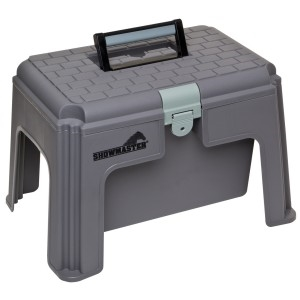 SHOWMASTER STEP UP TACK BOX-stable accessories-Spurs