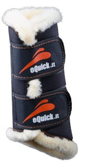 eQUICK eTRAINING FRONT BOOT-apparel - horse-Spurs