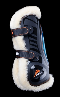 eQUICK eSHOCK NO KILL FRONT BOOTS-exercise boots-Spurs