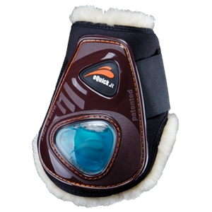eQUICK eSHOCK NO KILL REAR BOOT-exercise boots-Spurs