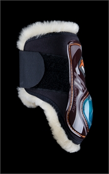 eQUICK eSHOCK REAR VELCRO WITH NO KILL-apparel - horse-Spurs