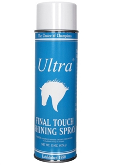 ULTRA FINAL TOUCH SPRAY-show preperation-Spurs