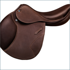 STUBBEN VIRGINIA DELUXE JUMP SADDLE-saddles & accessories-Spurs