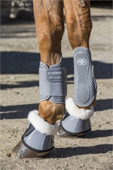 PRO CHOICE SPARTAN BELL BOOT WITH FLEECE-apparel - horse-Spurs