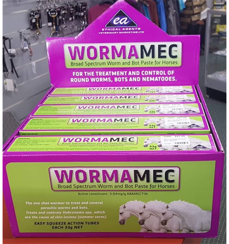 ETHICAL AGENTS WORMAMEC WORM AND BOT PASTE