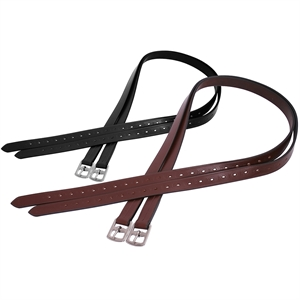 PLATINUM 25MM STIRRUP LEATHER-saddles & accessories-Spurs