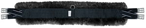CAVALINO SHEEPSKIN DBL EXPANSION GIRTH-saddles & accessories-Spurs