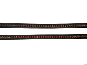 BROWBAND LARGE DIAMONTES BRB-109-bridles & bits-Spurs